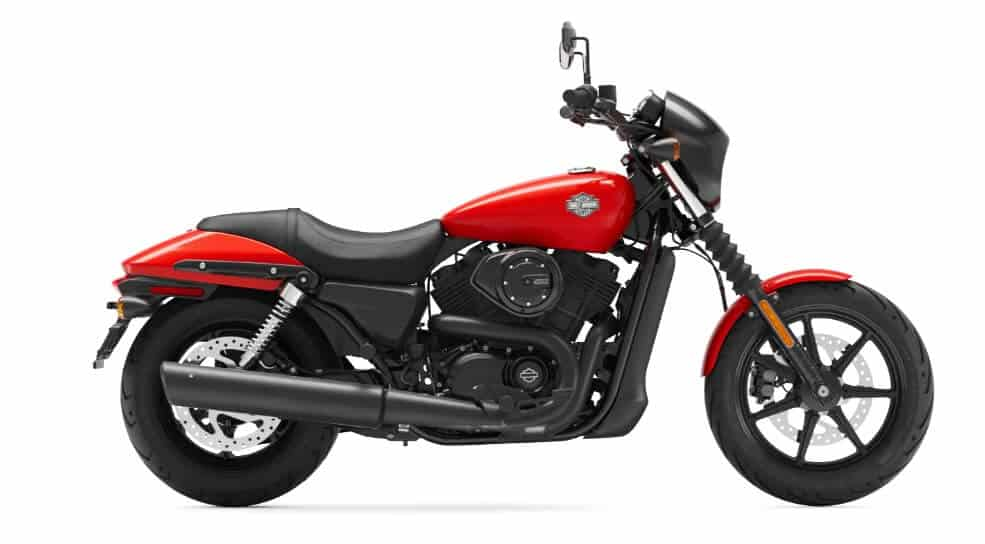 Harley-Davidson-Street-500-Red-Black