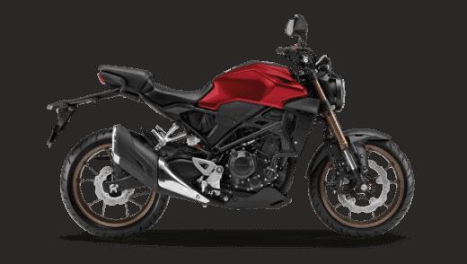 Honda-CB300-Red-2021