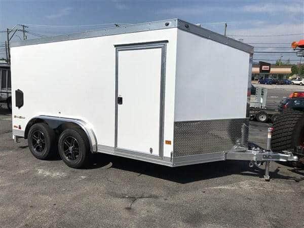 Aluminum-enclosed-motorcycle-trailers