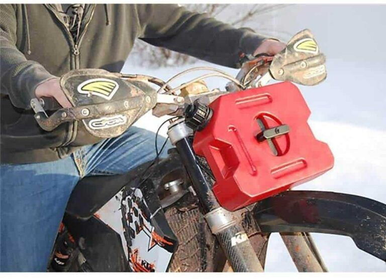 Best 10 Gas Can For Motorcycle And 5 Carriers To Hold It