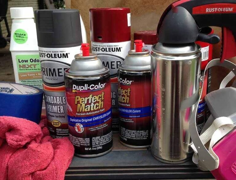 Best Spray Can For Motorcycle Painting Mastery
