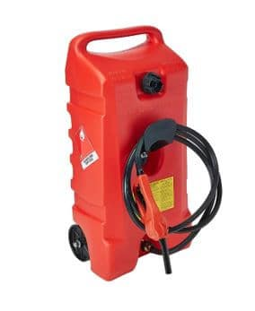 DuraMax-Flo n' Go-LE 14-Gallon-Rolling-Gas-Can-micramoto