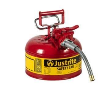 Justrite-7210120-AccuFlow-1-Gallon-Type-II-Red-Safety-micramoto